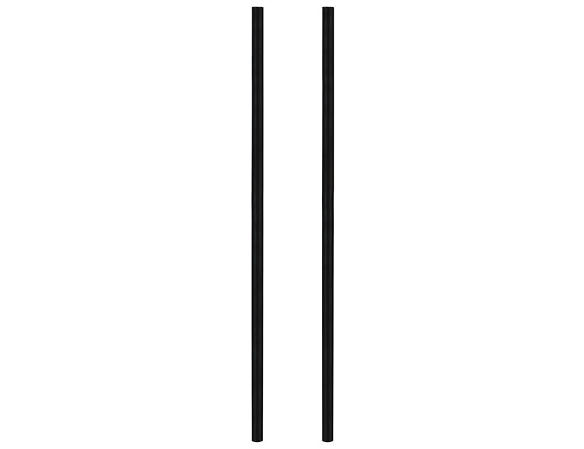 piquet de support noir
