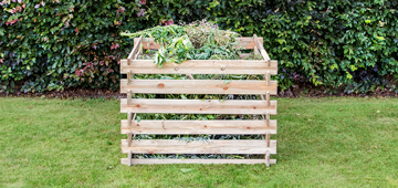 Houten tuincomposter